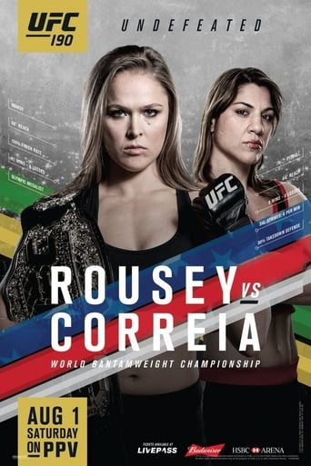 Poster of UFC 190: Rousey vs. Correia