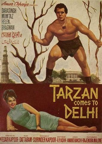 Poster of Tarzan Comes to Delhi