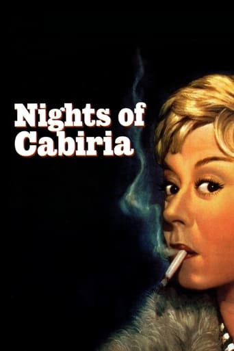 Poster of Nights of Cabiria