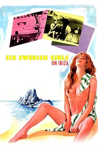 Poster of Six Swedish Girls on Ibiza