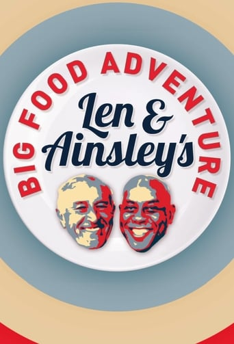 Poster of Len and Ainsley's Big Food Adventure