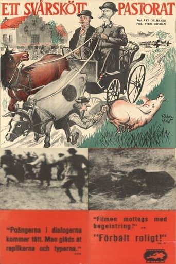 Poster of Ett svårskött pastorat
