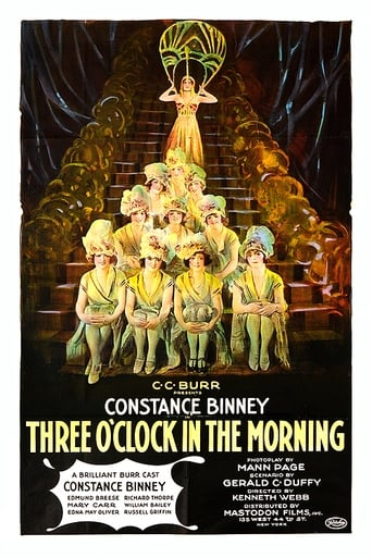 Poster of Three O'Clock in the Morning