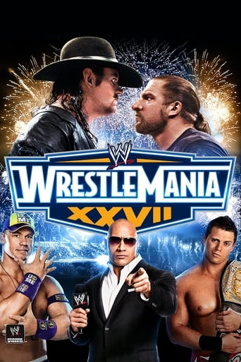 Poster of WWE WrestleMania XXVII