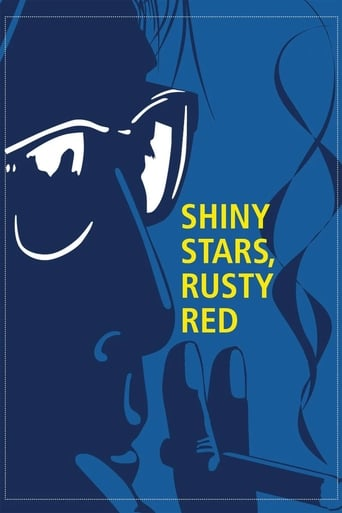 Poster of Shiny Stars, Rusty Red