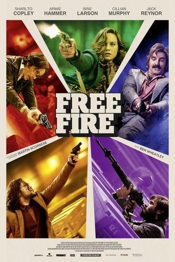 Filmposter von Free Fire