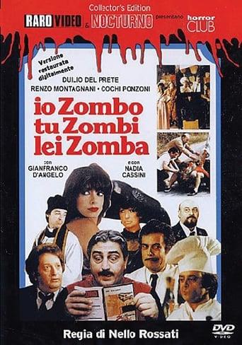 Poster of Io zombo, tu zombi, lei zomba