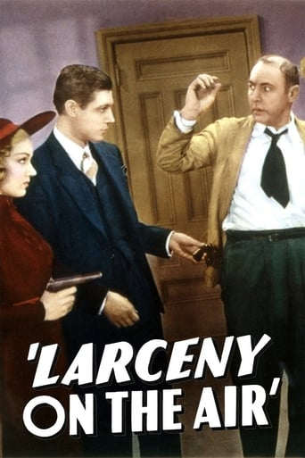 Poster of Larceny on the Air
