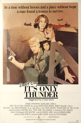 Poster of Don't Cry, It's Only Thunder