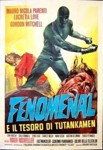 Poster of Phenomenal and the Treasure of Tutankamen