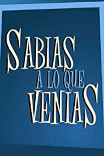 Poster of Sabias a lo que venías