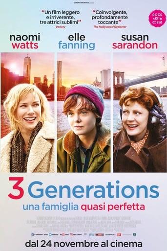 Poster of 3 Generations - Una famiglia quasi perfetta