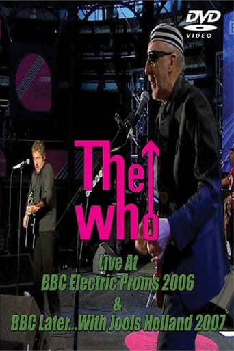 Poster of The Who at the Electric Proms