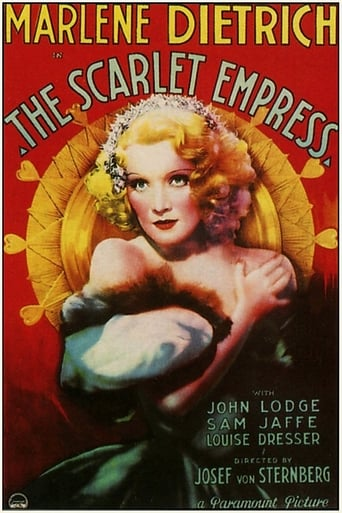 The Scarlet Empress Poster