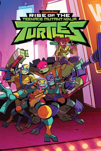 Poster of Rise of the Teenage Mutant Ninja Turtles