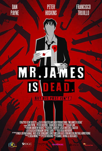 Poster of Mr. James Is Dead.