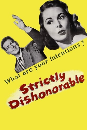 Poster of Strictly Dishonorable