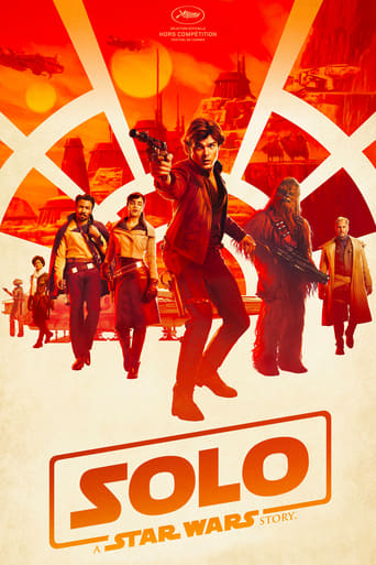 Poster of Solo : A Star Wars Story