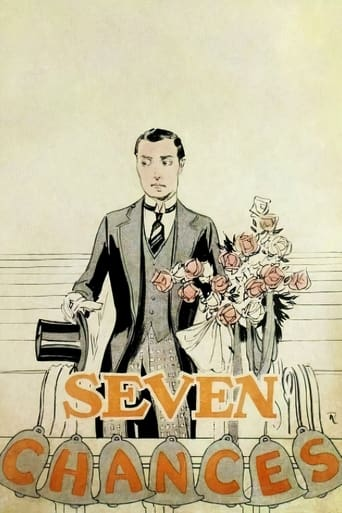 Poster of Seven Chances