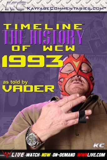 Poster of Timeline: The History of WCW – 1993 – As Told By Vader