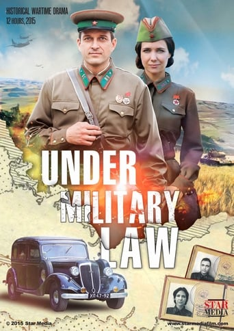 Poster of Under Military Law
