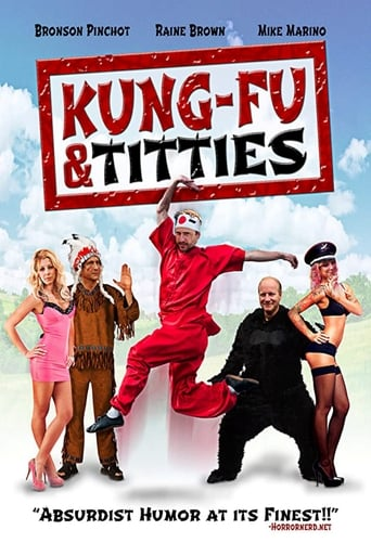 Poster of Kung-Fu and Titties