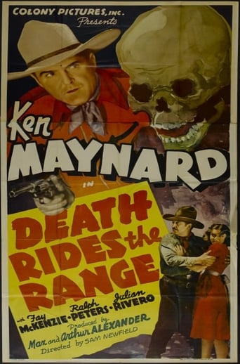 Poster of Death Rides the Range