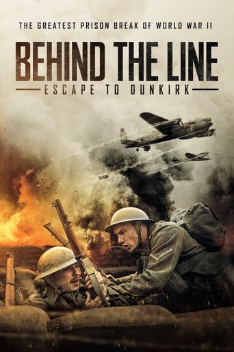 Poster of Behind the Line: Escape to Dunkirk