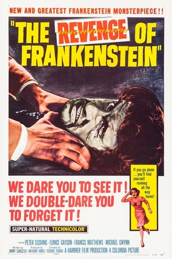 Poster of The Revenge of Frankenstein