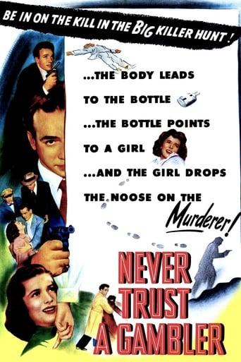 Poster of Never Trust a Gambler