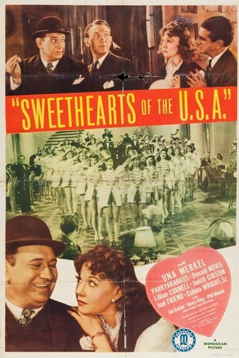 Poster of Sweethearts of the U.S.A.