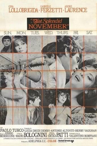 Poster of That Splendid November