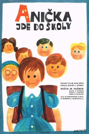 Poster of Anička jde do školy