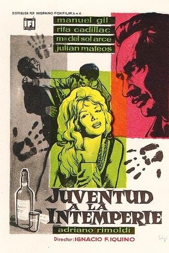 Poster of Juventud a la intemperie