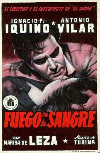 Poster of Fuego en la sangre