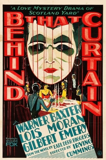 Poster of Behind That Curtain
