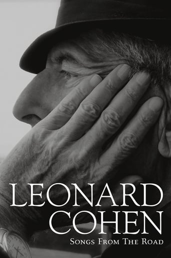 Poster of Leonard Cohen - Songs from the Road