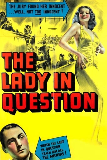 Poster of The Lady in Question
