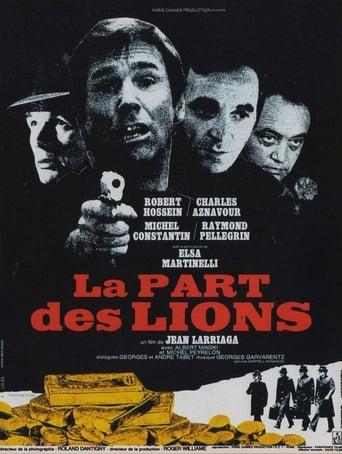 Poster of La part des lions