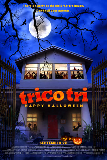 Poster of Trico Tri Happy Halloween