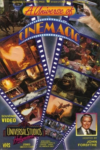 Poster of Universal Studios Hollywood: A Universe of Cinemagic