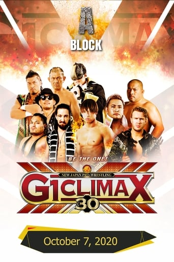 Poster of NJPW G1 Climax 30: Day 13