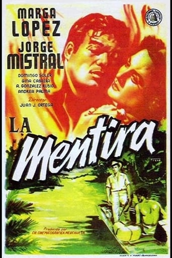 Poster of La mentira