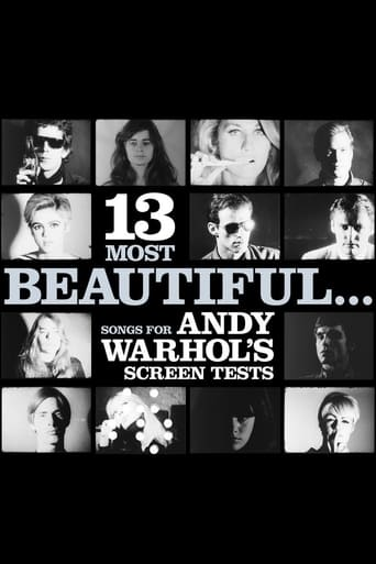 Poster of 13 Most Beautiful... Songs for Andy Warhol's Screen Tests