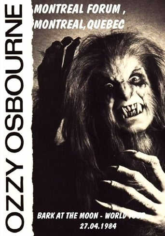 Ozzy Osbourne: [1984] Montreal, Canada poster