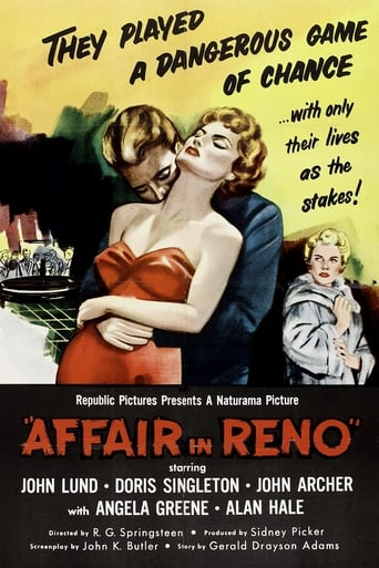 Poster of Affair in Reno