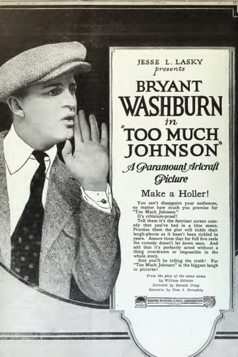 Poster of Too Much Johnson