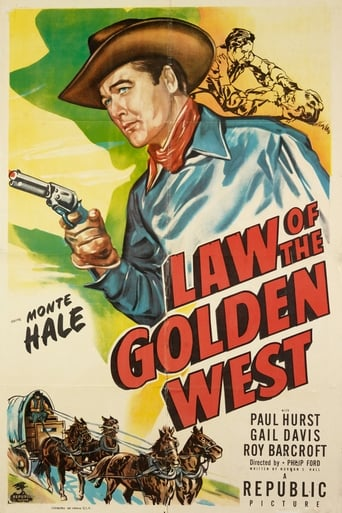 Poster of Law of the Golden West