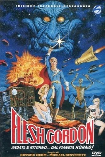Poster of Flesh Gordon: Andata e ritorno al pianeta Porno