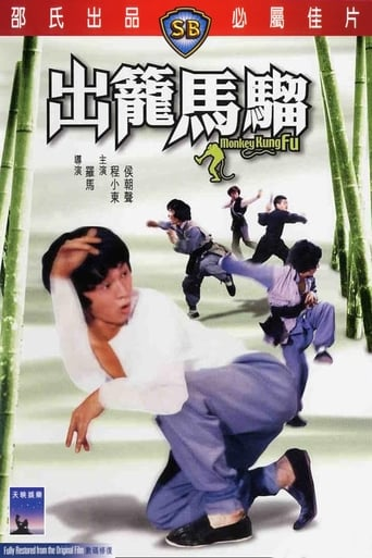 Poster of Monkey Kung Fu